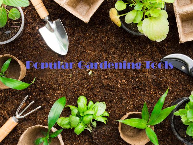 Popular Gardening Tools