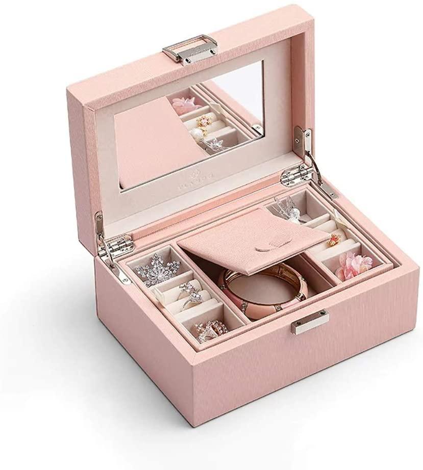 Vlando Mirrored Jewelry Box