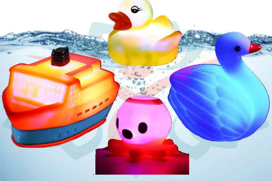 Light-Up Bath Toys