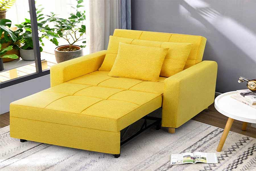 amelia fabric sofa bed,