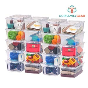 rubbermaid media storage box,