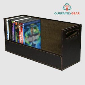 small media storage box,