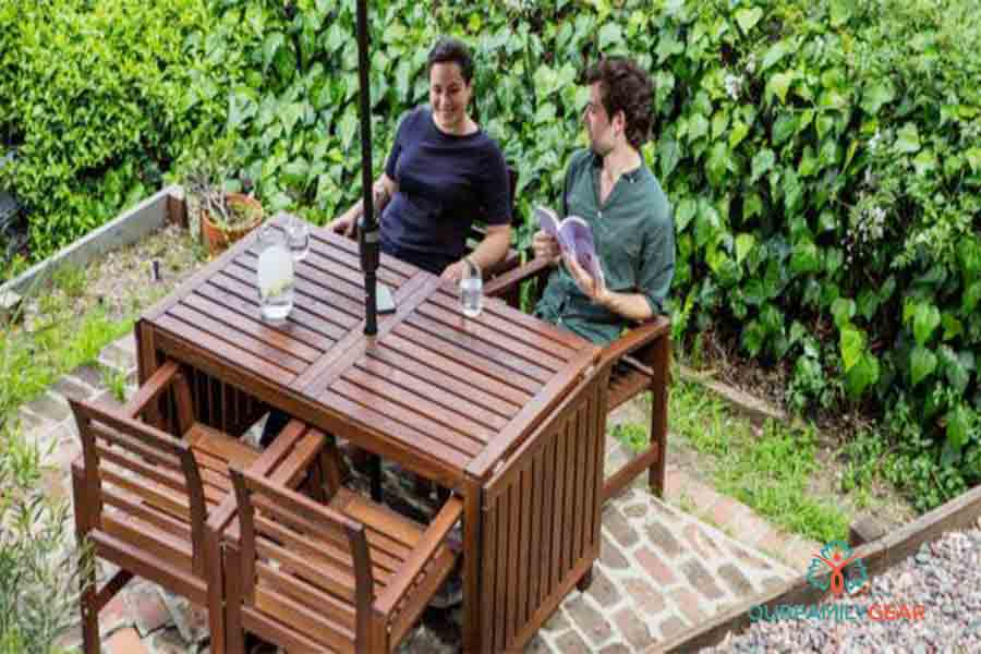 how to clean patio furniture mesh