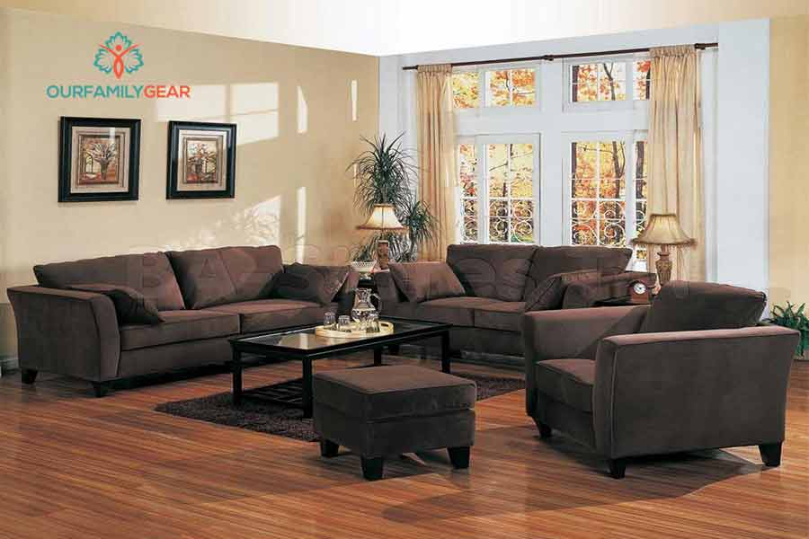 What Color To Paint Living Room With Brown Furniture