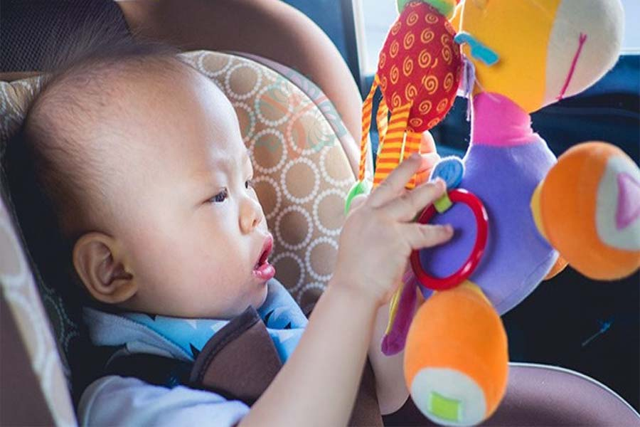 How to Attach Toys to Stroller