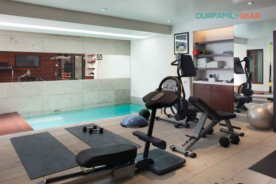 how to build a home gym in garage,