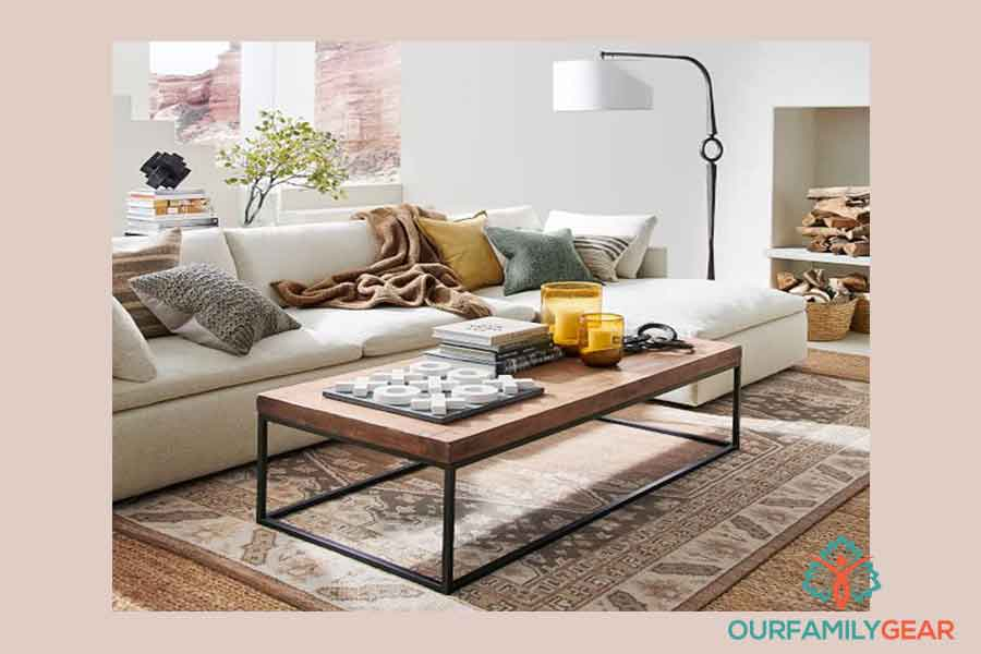 how to decorate a round coffee table, how to refinish a coffee table, how to paint a coffee table,
