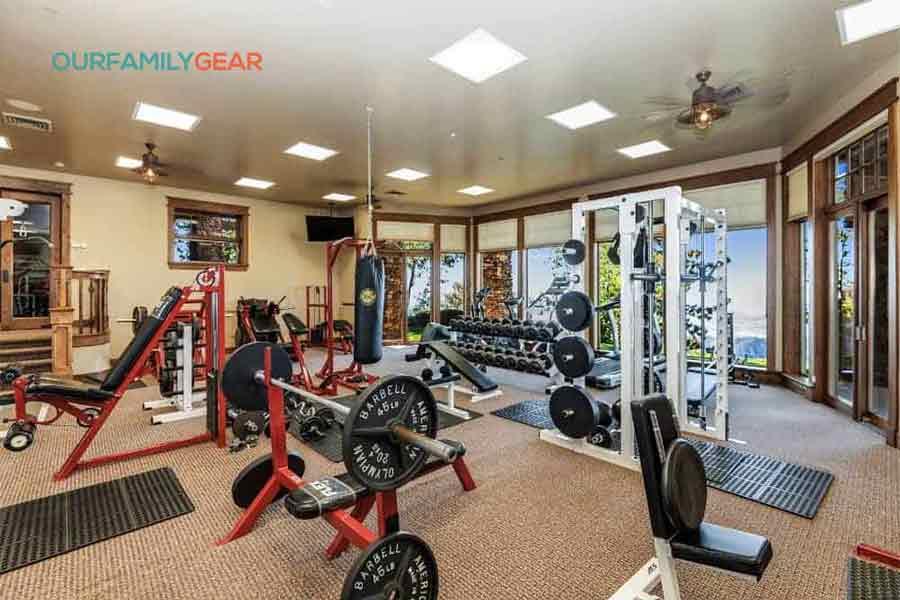 how to build a home gym,