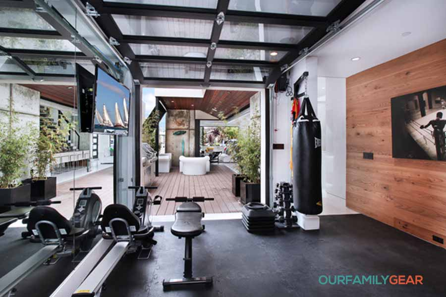 how to build a home gym in a small space,