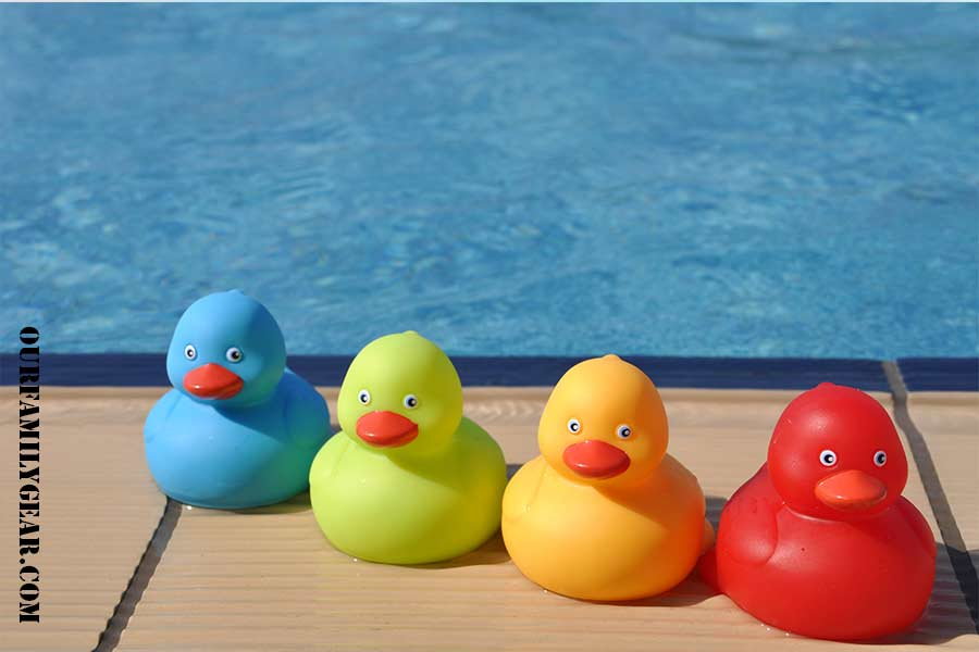 how to clean bath toys inside,