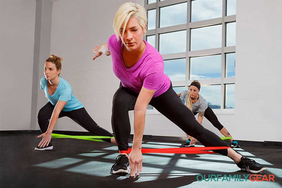 How to use exercise bands