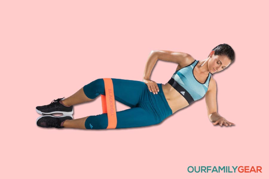 how to use exercise bands for bum,