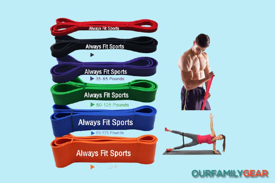 how to use exercise bands for arms,