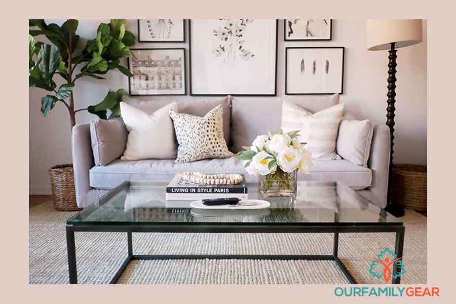 how to style a coffee table,