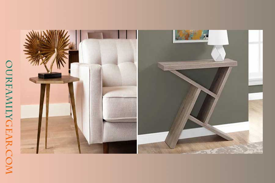 how high should a sofa table be,