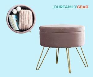 Modern-Round-Velvet-Storage-Ottoman-Foot-Rest-Vanity-Stool-Seat