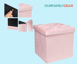Storage-Ottoman-Cube-Velvet-Tufted-Folding-Ottomans-with-Lid