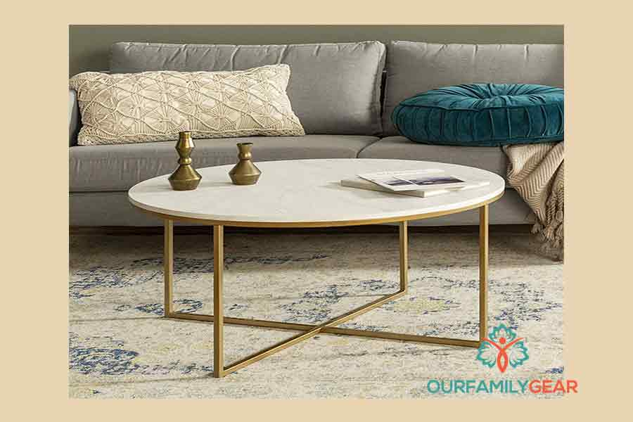article coffee table, basket coffee table,