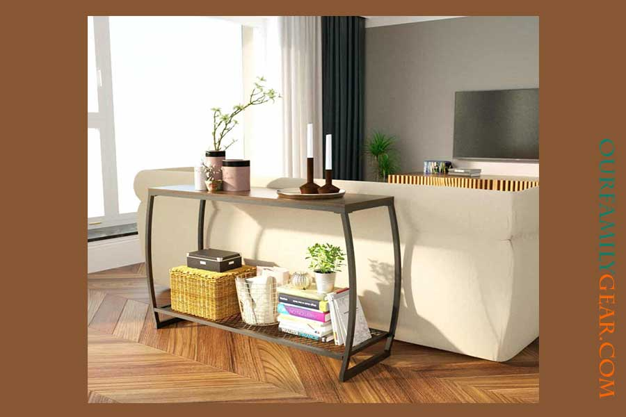 What is a sofa table