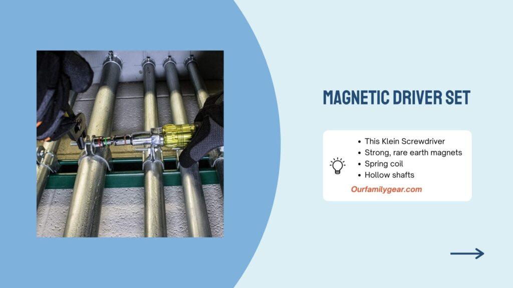 hand tools Magnetic driver set