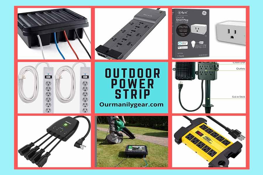 outdoor power strips