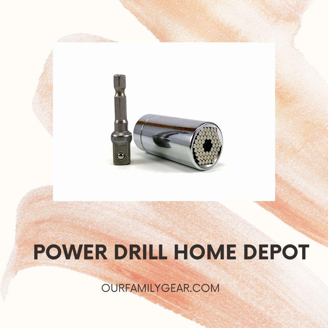 power drill home depot