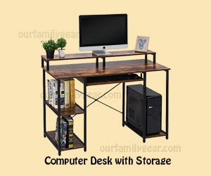 computer table Computer Desk with Storage