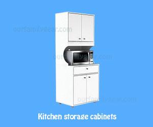 white kitchen cabinets Kitchen-Storage