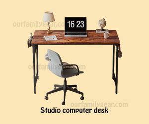 computer table studio computer desk